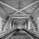 Grave Creek Covered Bridge Royalty Free Stock Photography