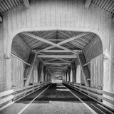 Grave Creek Covered Bridge Royalty Free Stock Images