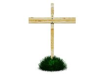 Grave cross Stock Images