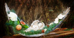 Grave decorations, Soul Boat Stock Images