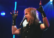 Grave Digger frontman Chris Boltendal. Stock Image