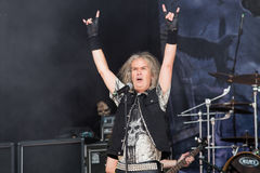 Grave Digger at Metalfest 2015 Royalty Free Stock Photography