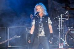 Grave Digger at Metalfest 2015 Stock Images