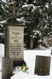 Grave of the family Mozart - Salzburg, Austria Stock Images