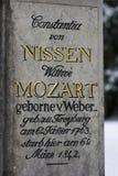Grave of the family Mozart - Salzburg, Austria Stock Image
