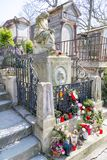 Grave of Frederic Chopin stock photography