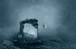 Free Grave In A Forest Stock Photography - 21749692
