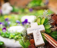 Grave jewelry, unforgotten Royalty Free Stock Images