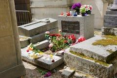 Grave of Jim Morrison Royalty Free Stock Photo