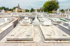 Grave of Jose Raul Capablanca Stock Photos