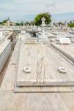Grave of Jose Raul Capablanca Stock Photo