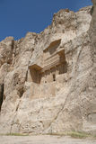 Grave of king Daeiros near Persepolis Royalty Free Stock Photos