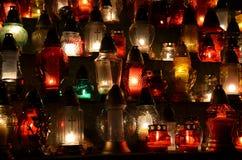 Grave lights Stock Photos