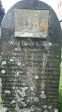 Grave Marker on Foehr Island Stock Images
