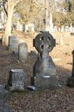 Grave marker Stock Image