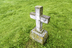 Grave Marker Royalty Free Stock Image
