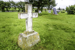 Grave Marker Stock Photography