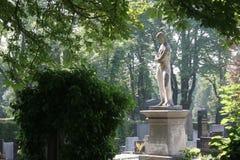 Grave at Mirogoj cemetery, Zagreb Royalty Free Stock Image