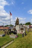 Grave and monument of Molly Pitcher. Carlisle, PA, USA – June 26, 2016: The Mary Ludwig Hays - better known as Molly Pitcher - gravesite, located in the Old Stock Photography