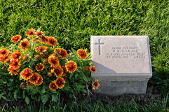 Grave of New Zealand Soldier at Anzac Cove, Gallipoli Stock Photos
