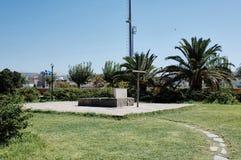 Grave of Nikos Kazantzakis Royalty Free Stock Photos