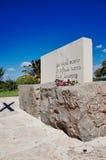 Grave of Nikos Kazantzakis Royalty Free Stock Photography