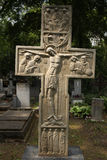 Grave of Prince Sergey Galitzine in Prague, Czech Republic. Royalty Free Stock Images
