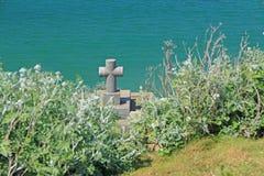 Grave of Rene-Francois de Chateaubriand Stock Photo