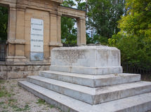 Grave of russian artist Ayvazovski in Feodosia Ukr Stock Photos