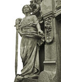 Grave Sculpture Royalty Free Stock Photography