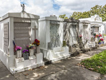 Grave site at the Saint Louis La Fayette Cemetery No 1 Stock Photography