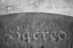 Grave Stone Royalty Free Stock Images