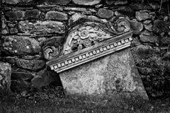 Grave stone Royalty Free Stock Photo