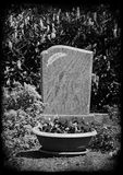 Grave Stone Stock Photography