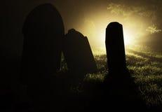 Grave Stone stock photos
