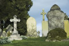 Grave Stones Royalty Free Stock Images