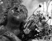 Grave Stones in Lviv's Lychakiv Cemetery Stock Image