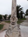 Grave. Tomber of the doctor cenaro en tangier Stock Photo