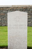 A Grave of an unknown german soldier world war 1 Stock Photo