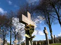 Grave of an unknown german soldier of worldwar two Royalty Free Stock Photography