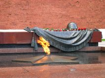 Grave of Unknown soldier Stock Images