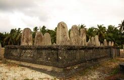 Grave yard. Garve yard in addu atoll meedhoo Stock Photo