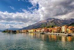 Gravedona (Lago di Como) lizenzfreie stockfotos