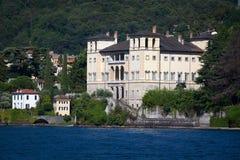 Gravedona in Lake Como, italy Royalty Free Stock Image