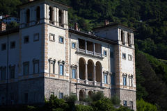 Gravedona in Lake Como, italy Royalty Free Stock Photo