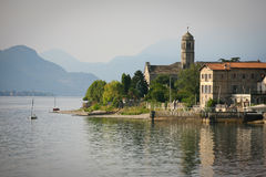 Gravedona, Lake Como Royalty Free Stock Photo