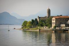Gravedona, Lake Como Royalty Free Stock Photo