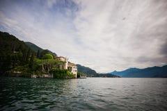 Gravedona town and Como lake, Italy Stock Photography