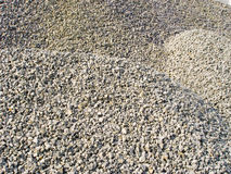 Gravel. Hills of gravel for backgrounds Royalty Free Stock Photography