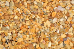 Gravel. Small colored pebbles / stones for background Royalty Free Stock Images